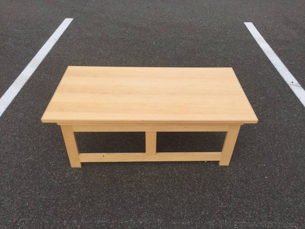 Wood Coffee Table With Storage - Will Deliver