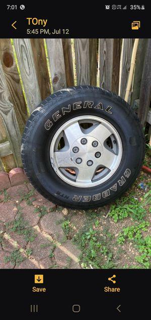 Oem tires and rims for Sale in Alexandria, VA