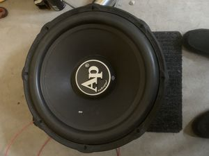 "Audio pipe speaker 18"" for Sale in Riverdale, IL"