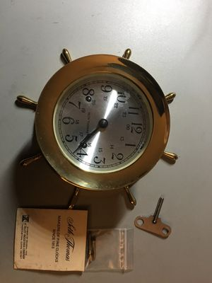 Vintage Antique Seth Thomas Ships Clock for Sale in Columbia, MD