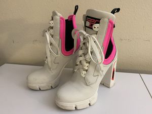 White Prada boot heels for Sale in Los Angeles, CA
