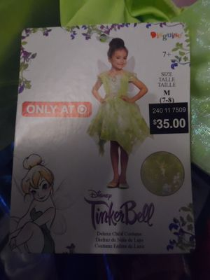 Disney Tinkerbell Halloween costume for Sale in San Diego, CA