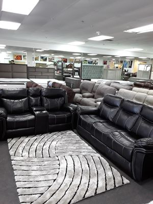 💥🔵💥🔵💥 GORGEOUS RECLINING SOFA & LOVESEAT SET 💥🔵💥🔵💥 SAVE $800 TILL SUNDAY!!!! for Sale in West Palm Beach, FL