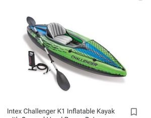BNIB Intex K1 Inflatable Kayak. Need gone today for Sale in Washougal, WA