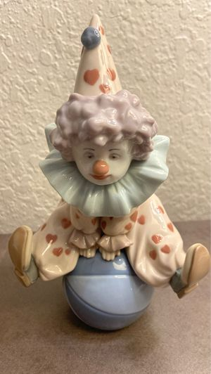 LLADRO HAVING A BALL Clown on Ball , RETIRED for Sale in Pembroke Park, FL