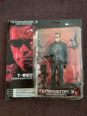 Teminator 3 Rise of the Machine T-850 Action Figure for Sale in Burbank, CA