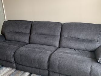 Sectional Sofa Reclines Both Ends for Sale in Englewood,  NJ