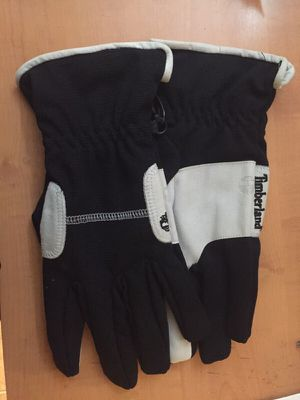 6e1e9ba7553 Timberland 4 way stretch black white Men s Gloves size L for Sale in Bronx
