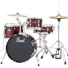 Pearl Roadshow 4 Piece Bop Drum Set Wine Red for Sale in Brooklyn, NY