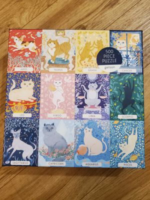 Cat Astrology 500 Piece Puzzle for Sale in San Diego, CA