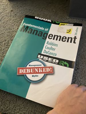 Fundamentals of Management for Sale in Chicopee, MA
