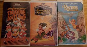 Disney VHS Movies - Lot of 8 for Sale in Arlington, TX