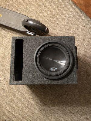 10 inch Alpine Type E Sub in Box w/ MTX Amp for Sale in Long Beach, CA