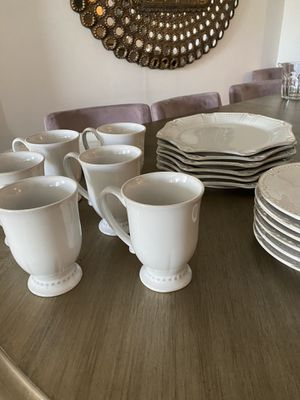 Natalia by Pier 1. Serve for 6. Like new. Is possible to buy more place in {url removed} for Sale in Miami, FL