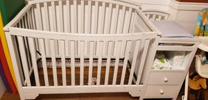 Crib and changing table for Sale in Lancaster, PA