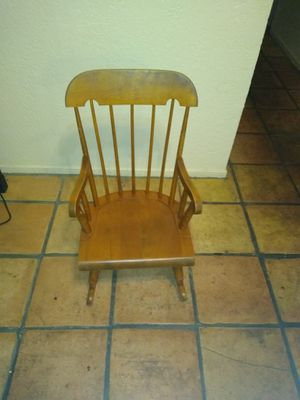Antique Child rocking chair for Sale in Fresno, CA