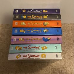 The Simpsons Seasons 1-7 Box Sets for Sale in West Sacramento,  CA