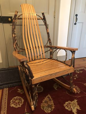 Amish Hickory Rocking Chair for Sale in New Holland, PA