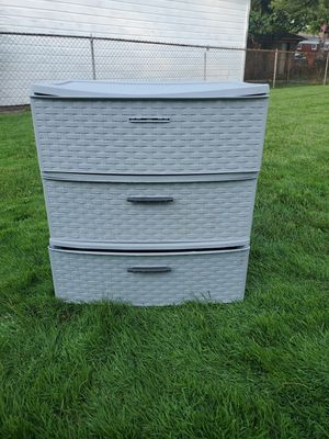 Sterlite plastic drawers for Sale in Dearborn Heights, MI