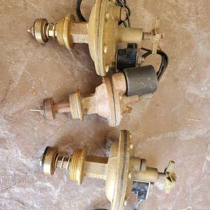 Sprinkler valves Brass 3 total for Sale in Las Vegas, NV