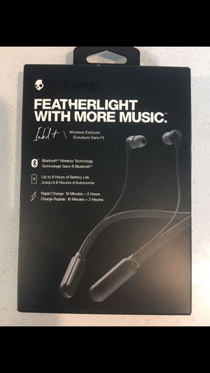 Skullcandy Ink'd + Wireless Bluetooth Headphones - New in Box for Sale in Seattle, WA
