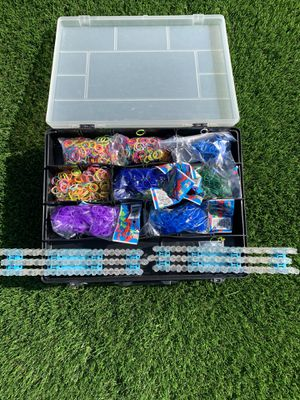 Rainbow loom collection for Sale in Oceanside, CA
