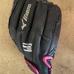 Mizuno Left Handed Softball Glove for Sale in Chandler, AZ
