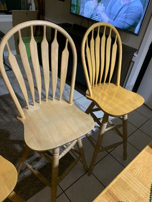 Wooden Barstools for Sale in West Palm Beach, FL