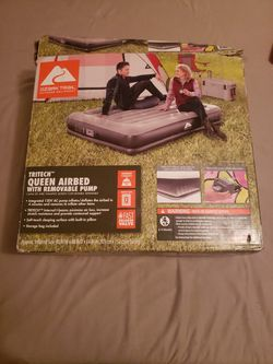 Ozark Trail Queen Sized Air Mattress for Sale in Bridgman,  MI