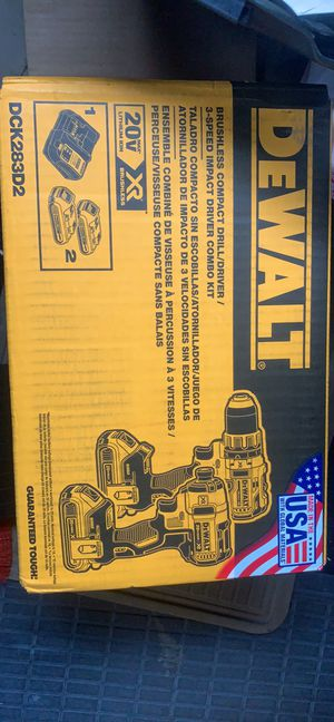Dewalt compact drill/driver 3 speed for Sale in Philadelphia, PA
