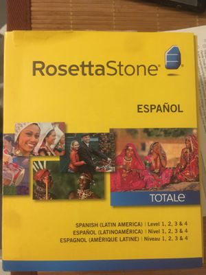 Rosetta Stone - Spanish version 4. New for Sale in Encinitas, CA