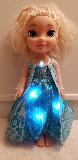 Elsa Musical Doll Lights on When She sings for Sale in Henderson, NV
