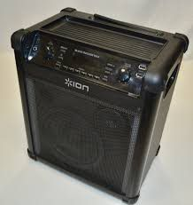 ION Block Rocker MAX Bluetooth Speaker IPA76C2 with light USED for Sale in Long Beach, CA