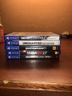 Video Games for PS4 for Sale in Washington, DC