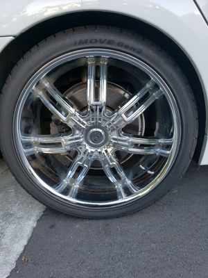 """22"""" rims / on a 2008 750 BMW for Sale in Wilmington, NC"""