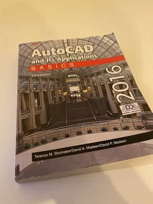 Book, AutoCAD Basics 2016 for Sale in Los Angeles, CA