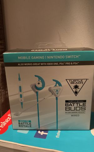 Gaming headset - Turtle beach battle buds for Sale in Queens, NY