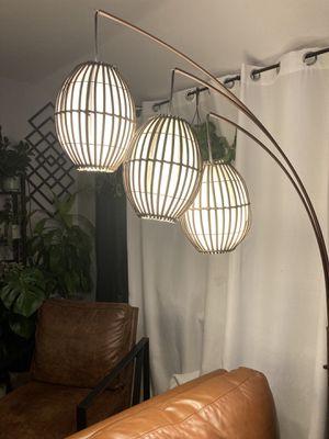 Floor Lamp tiki world market for Sale in Aspen Hill, MD