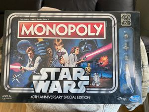 Star Wars 40th anniversary Monopoly for Sale in Garrison, MD