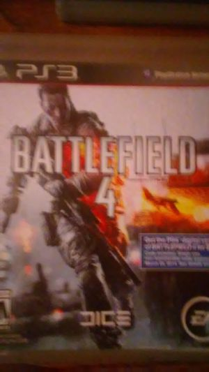 Ps3 battlefeild 4 for Sale in Cleveland, OH