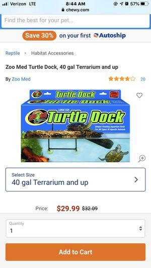ZooMed floating dock for Sale in Gonzales, LA