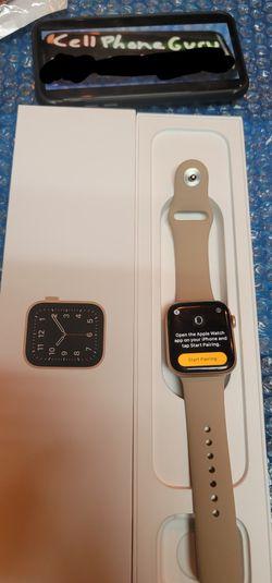 Apple Watch 4th Gen 44mm GOLD LTE + GPS + Bluetooth for Sale in Phoenix,  AZ