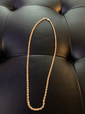 Gold plated necklace for Sale in Downey, CA