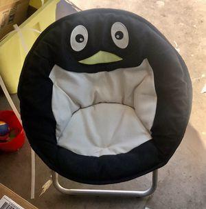 Penguin kids folding moon chair for Sale in Gilbert, AZ