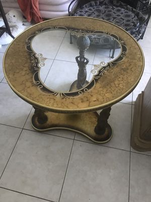 Antique bronze figures table for Sale in Oakland Park, FL