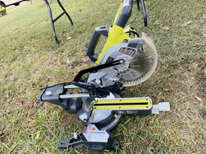 Ryobi 7 1/4 Sliding Miter Saw for Sale in Dallas, TX