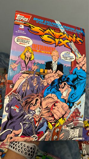 Satan six comic book for Sale in Long Beach, CA