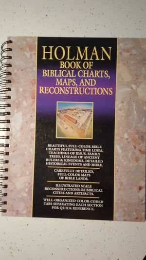 Holman Book of Biblical Charts, Maps, and Reconstructions for Sale in West Columbia, SC