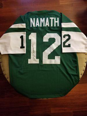 New York Jets Joe Namath signed jersey for Sale in Hayward, CA