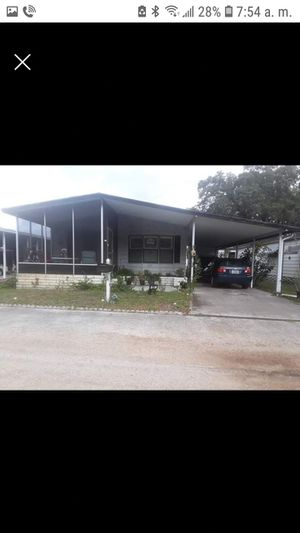 Mobile home $ 25000 ($20000 down payment and $400 per month for Sale in Tampa, FL